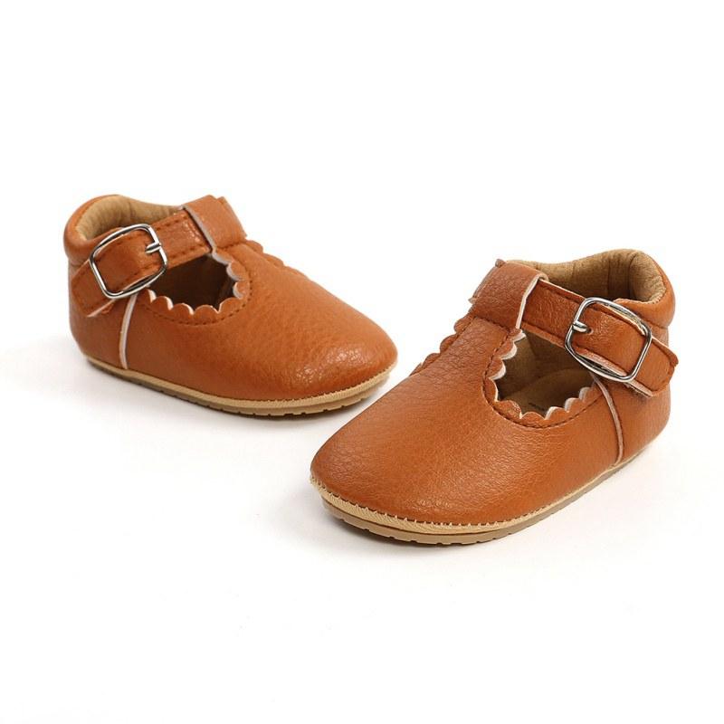 thumbnail 12 - Baby Sandals Newborn Boy Girl Non Slip Cloth Walking Shoes Trainer Shoes 0-18M U